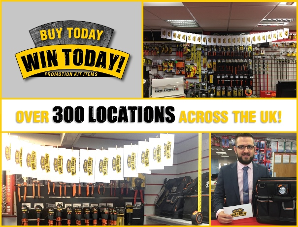 Klein Tools Buy Today - Win Today, over 300 locations across the UK